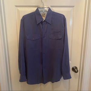 Mens Travel Smith Button Down Dress Shirt
